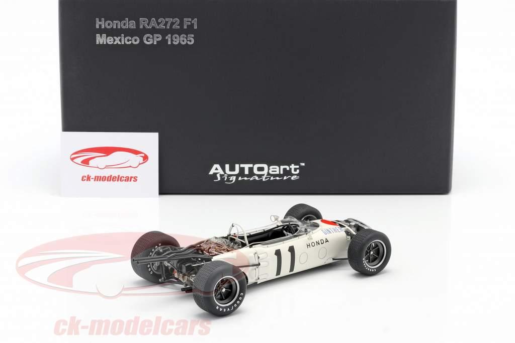 Richie Ginther Honda RA272 #11 ganador GP México fórmula 1 1965 1:18 AUTOart