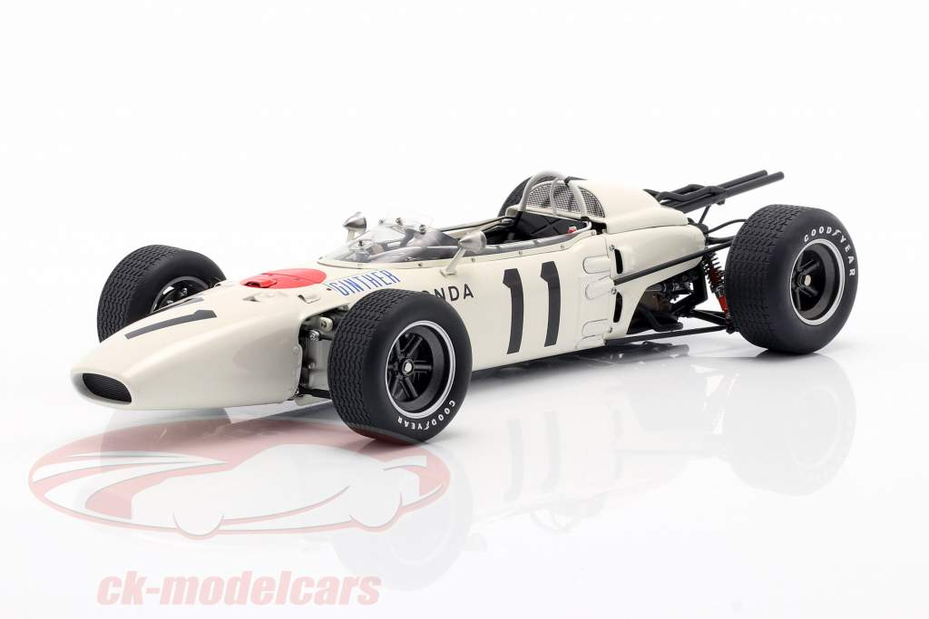 Richie Ginther Honda RA272 #11 Vinder GP mexico formel 1 1965 1:18 AUTOart