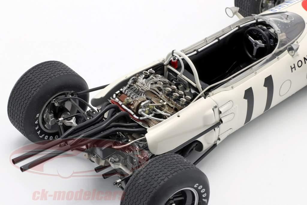 Richie Ginther Honda RA272 #11 vincitore GP Messico formula 1 1965 1:18 AUTOart