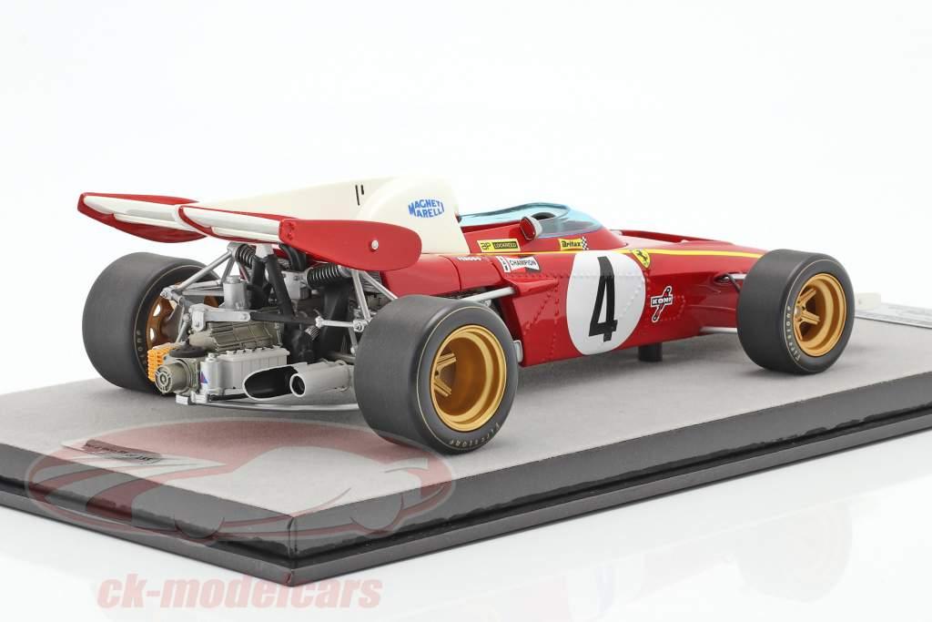 Jacky Ickx Ferrari 312B2 #4 3rd Monaco GP Formel 1 1971 1:18 Tecnomodel