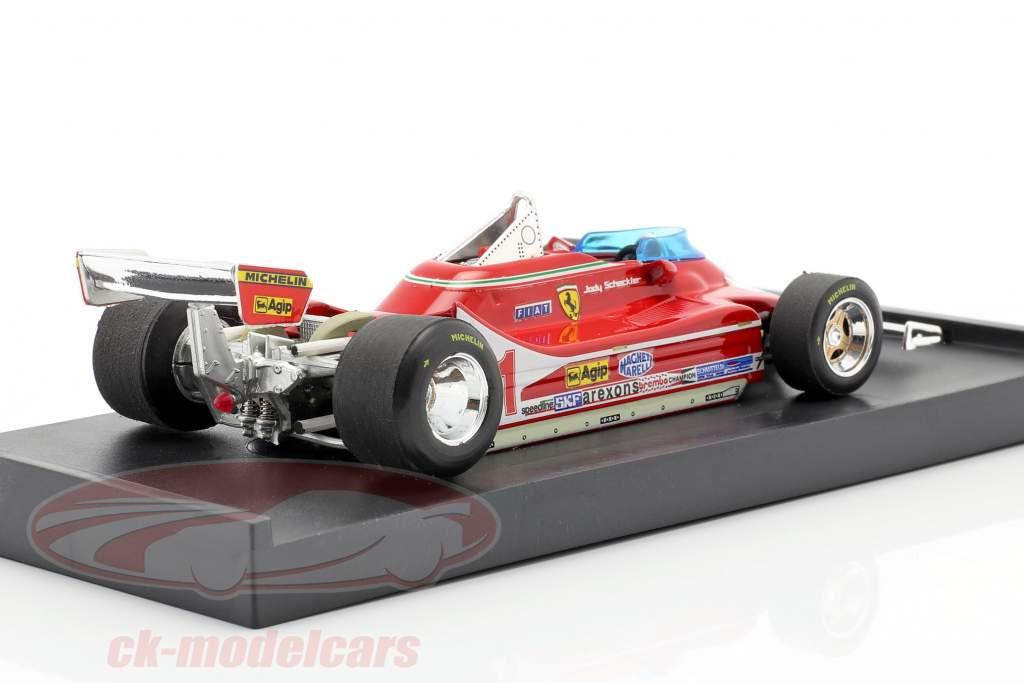 J. Scheckter Ferrari 312 T4 #11 Champion du Monde GP Italie Formule 1 1979 1:43 Brumm