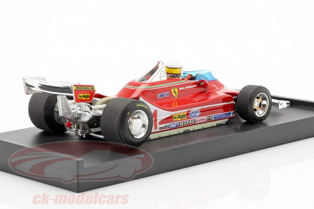 J. Scheckter Ferrari 312 T4 #11 Verdensmester GP Italien Formel 1 1979 1:43 Brumm