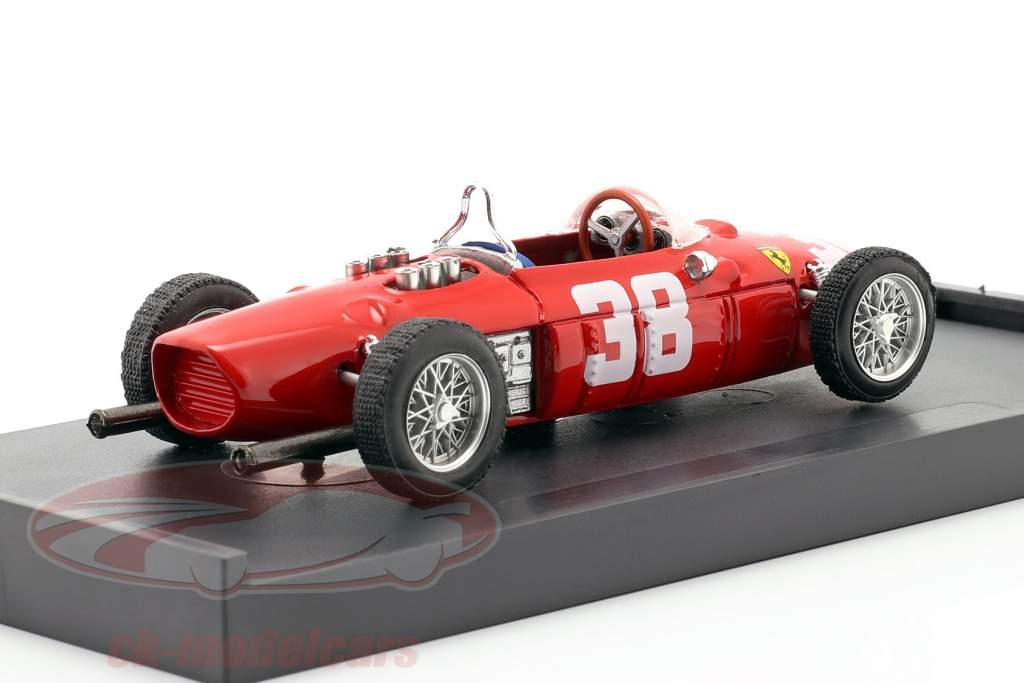 Phil Hill Ferrari Dino 156 formula one GP Monaco 1961 1:43 Brumm