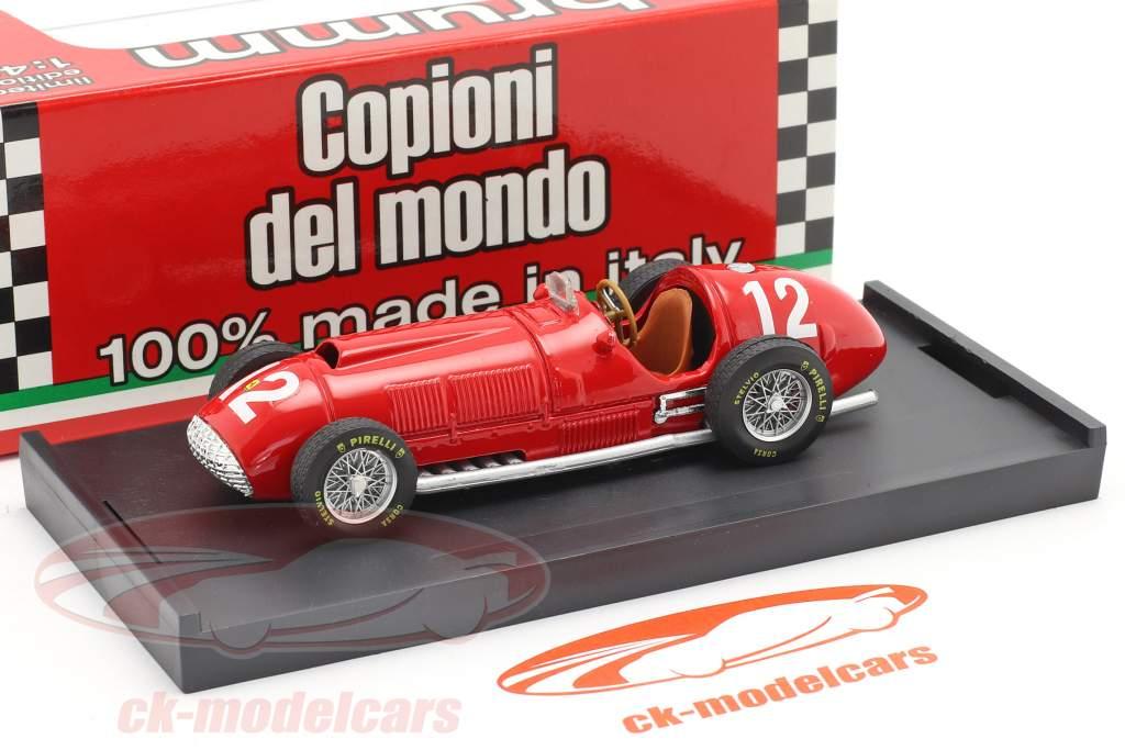 F. Gonzalez Ferrari 375 #12 británico GP fórmula 1 1951 1:43 Brumm