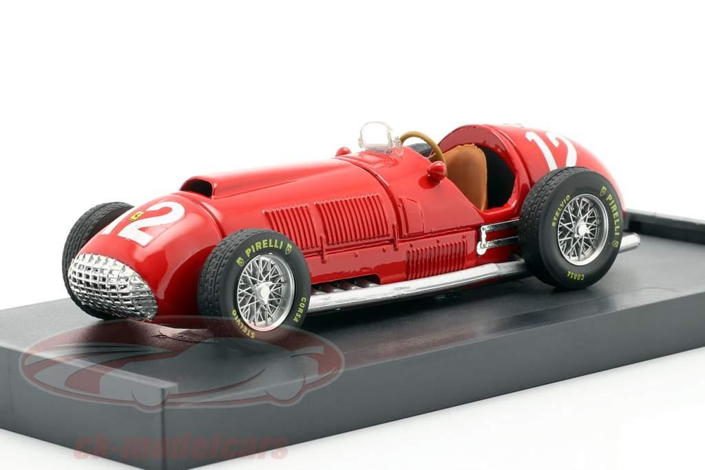F. Gonzalez Ferrari 375 #12 britannique GP formule 1 1951 1:43 Brumm