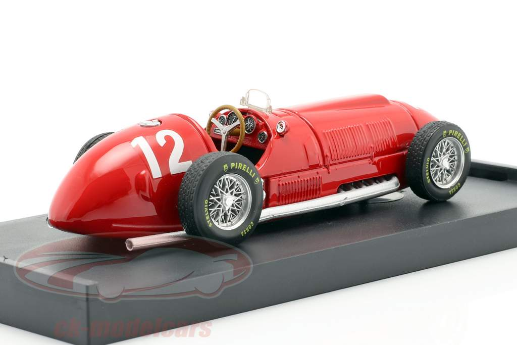 F. Gonzalez Ferrari 375 #12 britânico GP fórmula 1 1951 1:43 Brumm