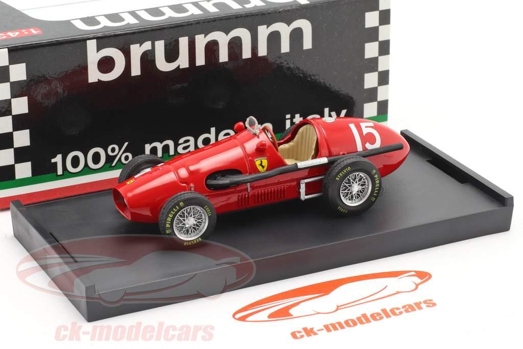 Ascari Ferrari 500F Formule 1 Champion du Monde 1952 1:43 Brumm