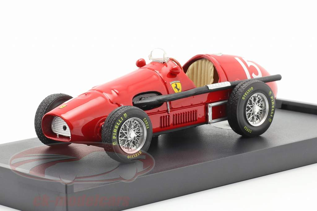 Ascari Ferrari 500F2 Formel1 1952 worldchampion 1:43 Brumm