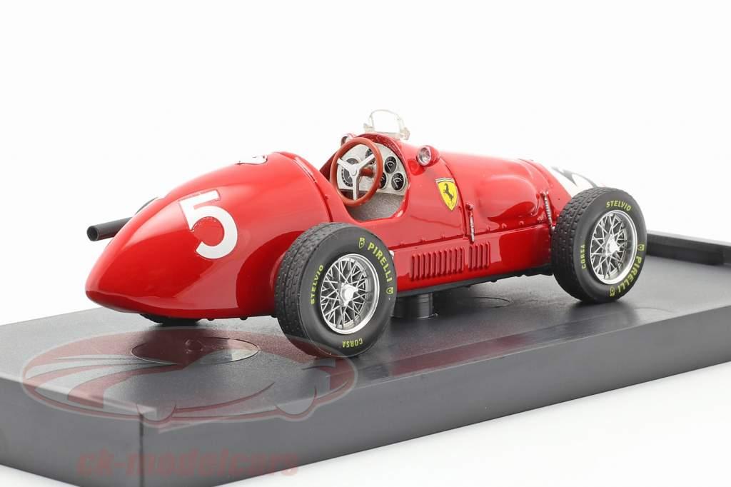 Alberto Ascari Ferrari 500F2 formule 1 1953 1:43 Brumm