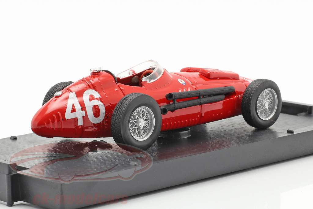 Maserati 250F #46 Prova GP Italia Fórmula 1 1957 1:43 Brumm