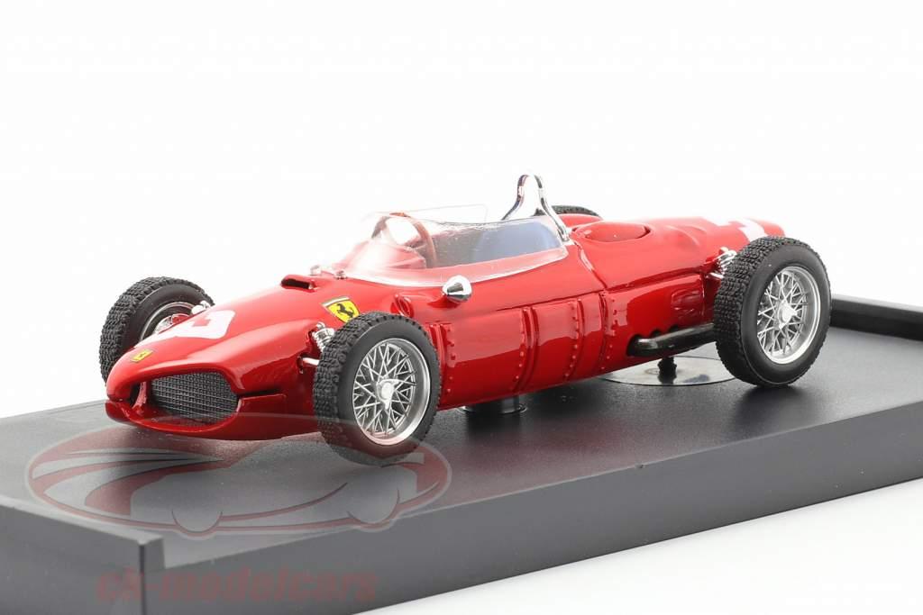 W. von Trips Ferrari 156 #3 Holanda GP fórmula 1 1961 1:43 Brumm