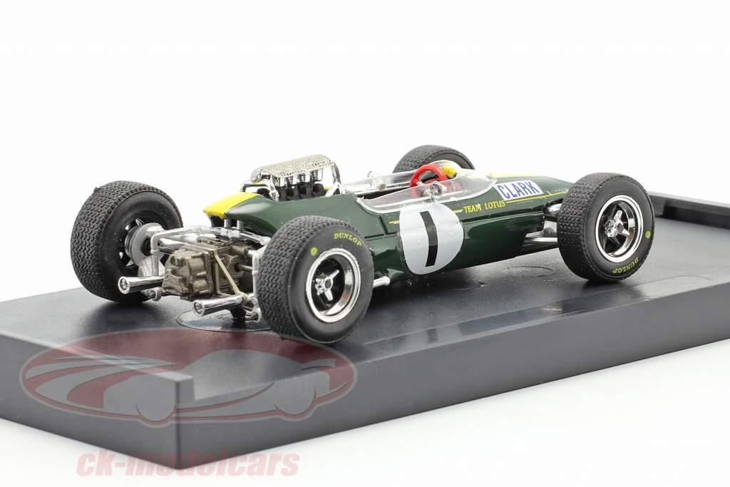 Jim Clark Lotus 33 #1 verdensmester Tyskland GP formel 1 1965 1:43 Brumm