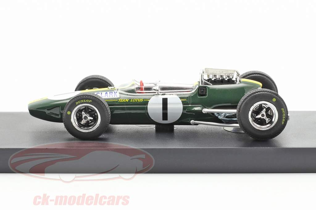 Jim Clark Lotus 33 #1 campeón del mundo Alemania GP fórmula 1 1965 1:43 Brumm