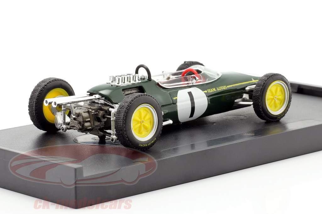 Jim Clark Lotus 25 #1 gagnant belge GP champion du monde formule 1 1963 1:43 Brumm