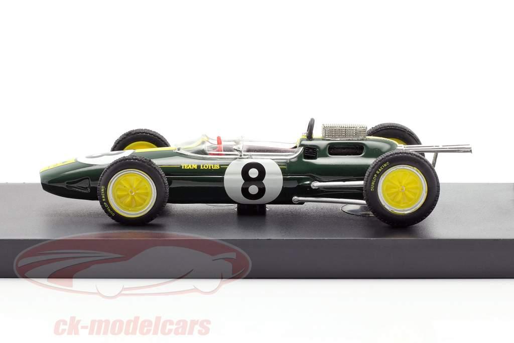 Jim Clark Lotus 25 #8 winnaar Italiaans GP wereldkampioen formule 1 1963 1:43 Brumm