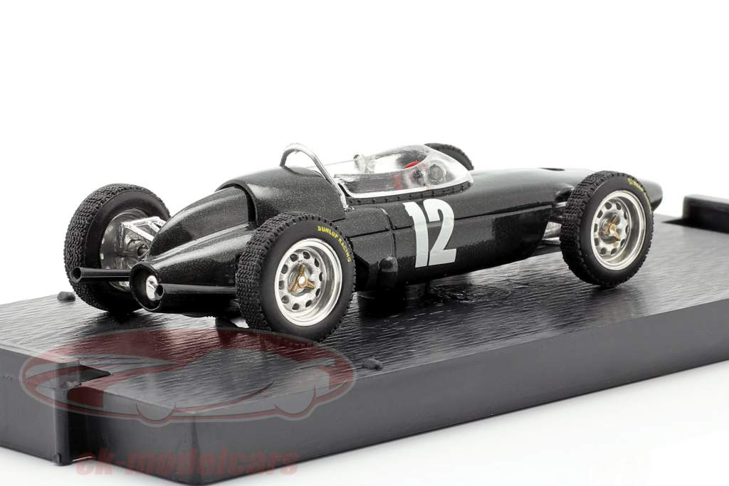 Richie Ginther BRM P57 #12 2 ° italiano GP formula 1 1962 1:43 Brumm