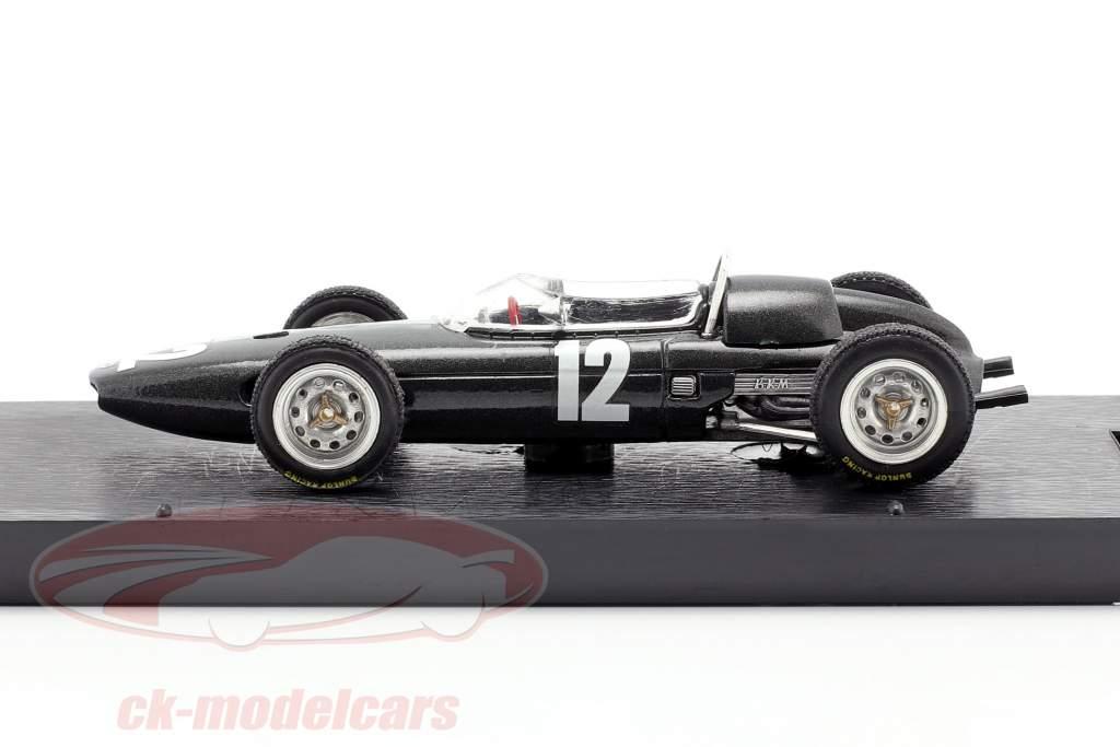 Richie Ginther BRM P57 #12 2e Italiaans GP formule 1 1962 1:43 Brumm