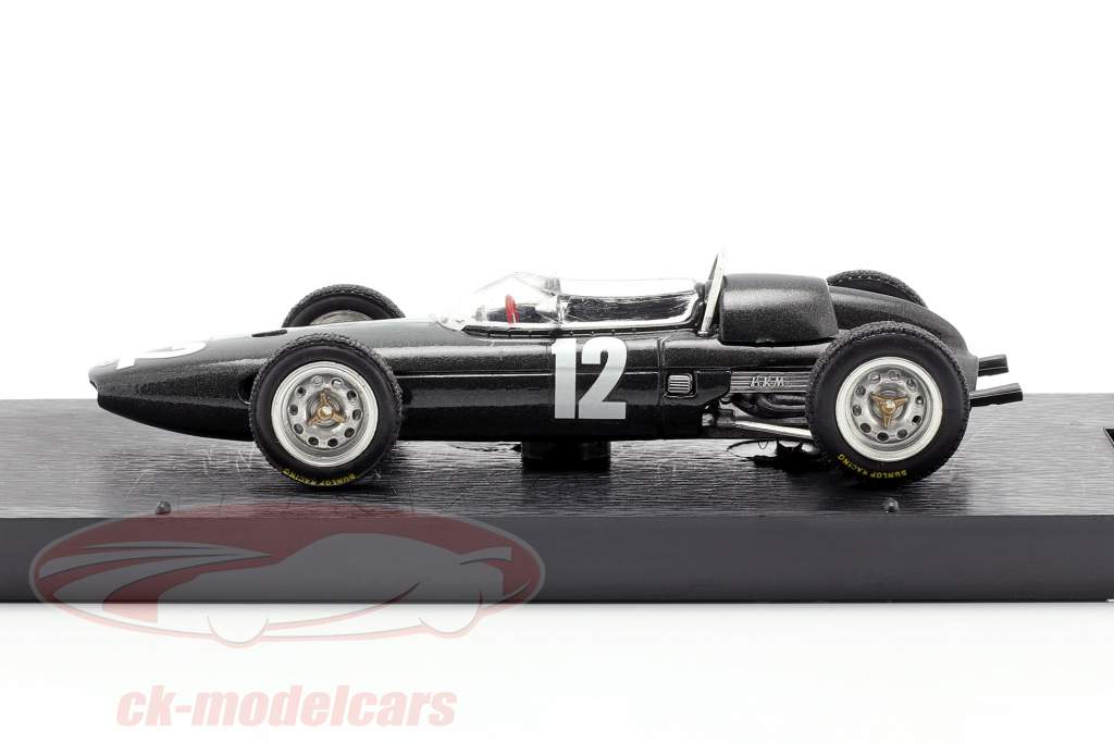 Richie Ginther BRM P57 #12 2nd italiensk GP formel 1 1962 1:43 Brumm