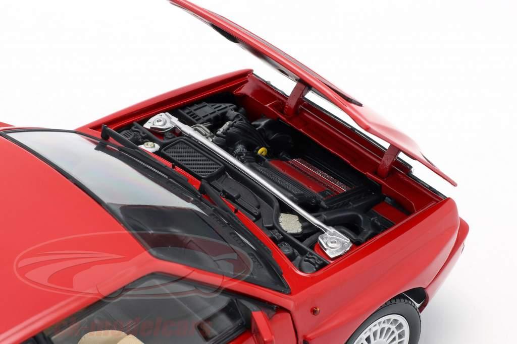 Lancia Delta HF Integrale Evoluzione 2 Ano de construção 1993 vermelho 1:18 Kyosho