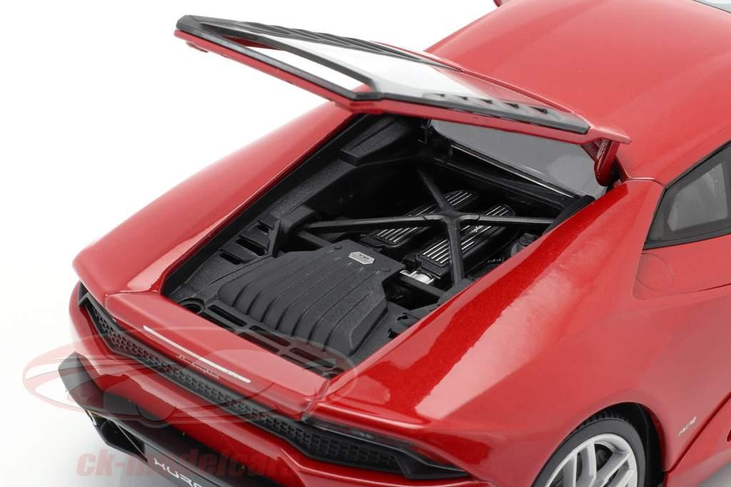 Lamborghini Huracan LP 610-4 Año 2015 rojo 1:18 Welly