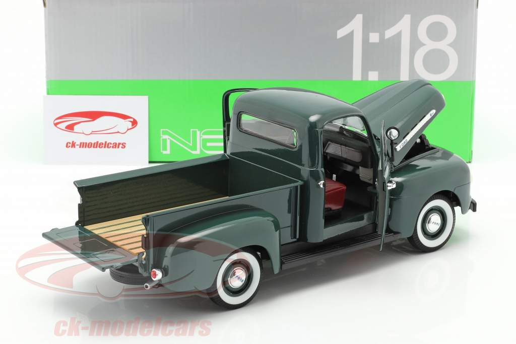 Ford F-1 Pick Up Année 1951 vert 1:18 Welly