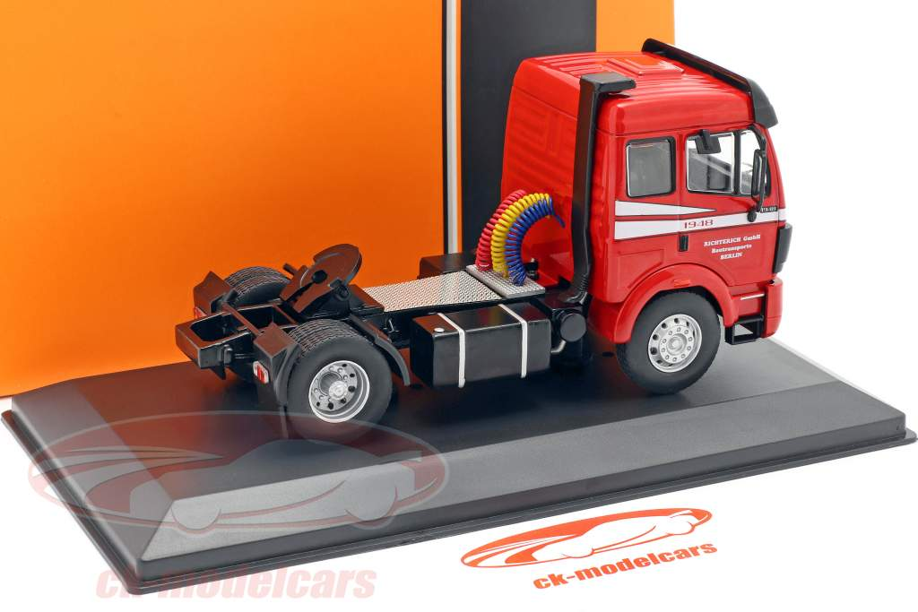 Mercedes-Benz SK 1948 lastbil Byggeår 1990 rød 1:43 Ixo