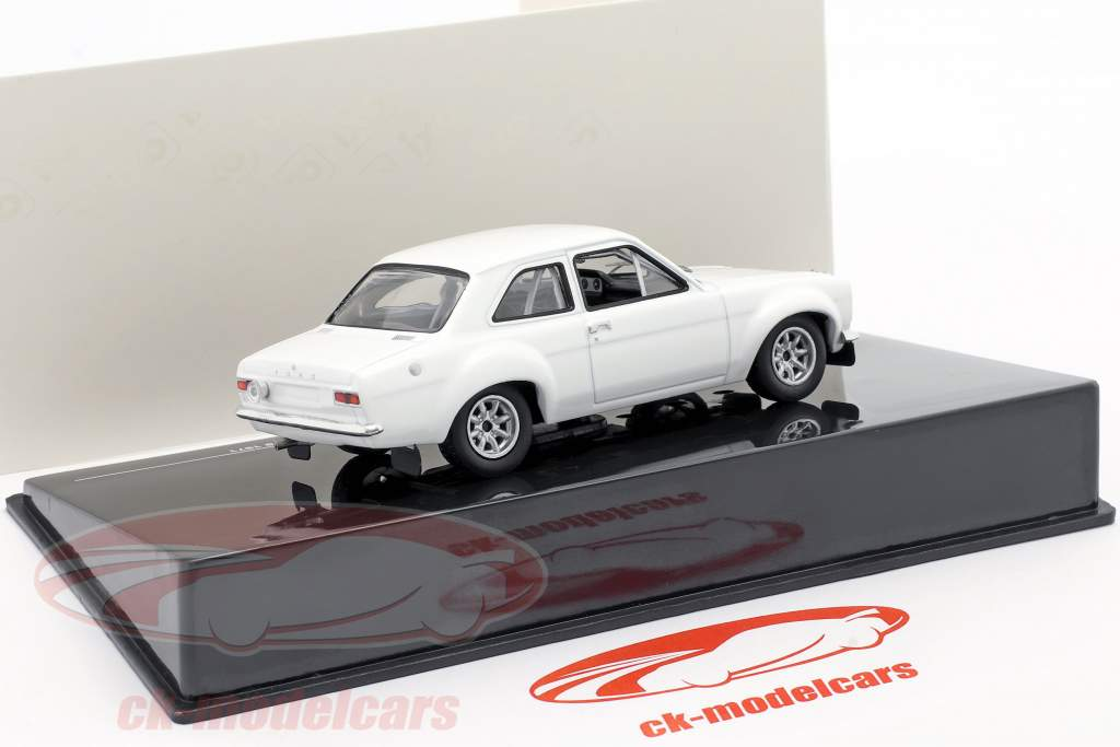 Ford Escort MK I RS 1600 1971 Rally Specs Plain Body Version bianca 1:43 Ixo