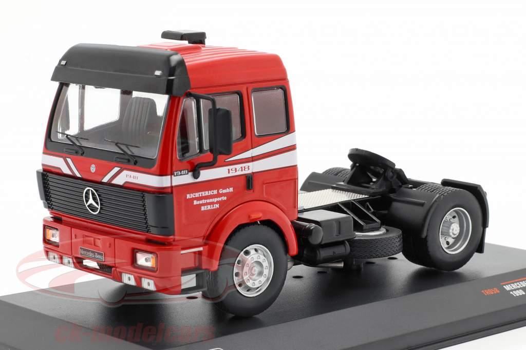 Mercedes-Benz SK 1948 Caminhão Ano de construção 1990 vermelho 1:43 Ixo