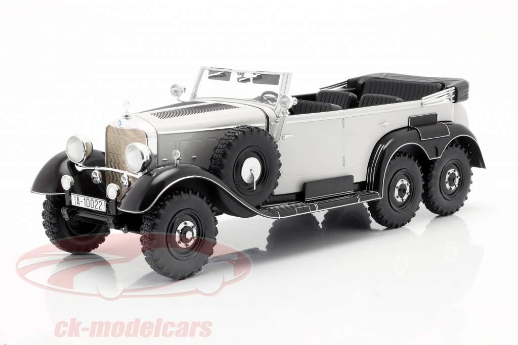 Mercedes-Benz G4 (W31) Baujahr 1934-1939 hellgrau 1:18 Model Car Group