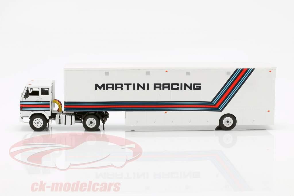 Volvo F88 Transportador de carreras Brabham Martini Racing fórmula 1 1:43 Ixo