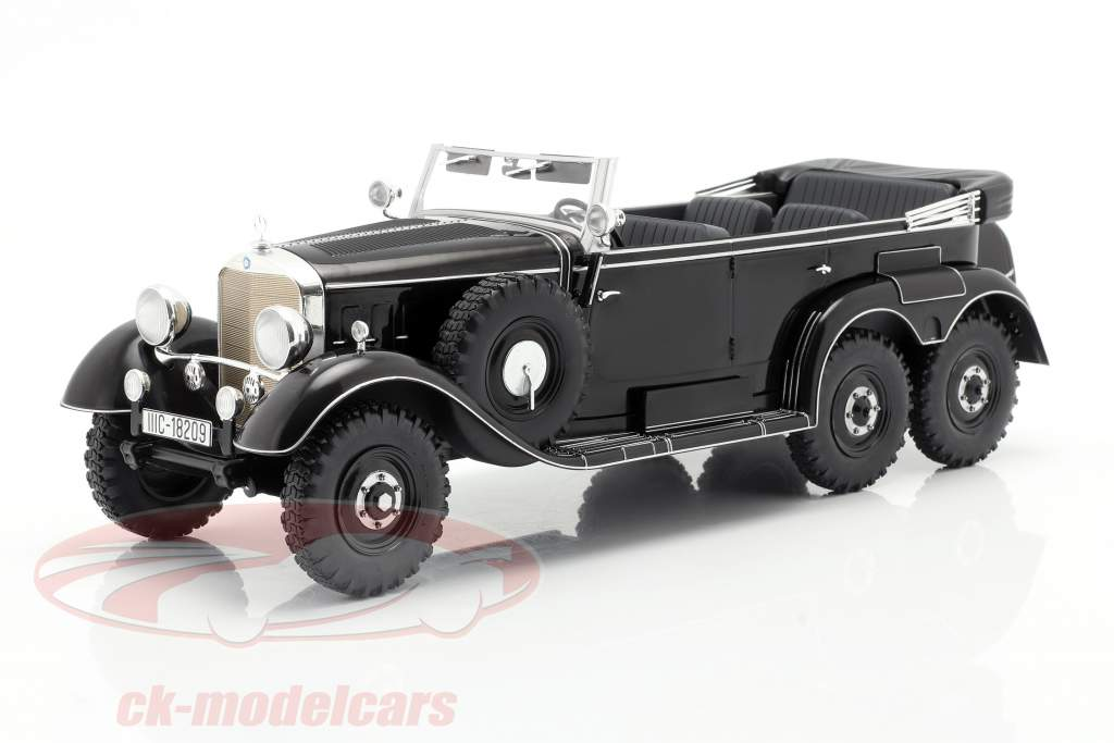 Mercedes-Benz G4 (W31) Anno di costruzione 1934-1939 nero 1:18 Model Car Group