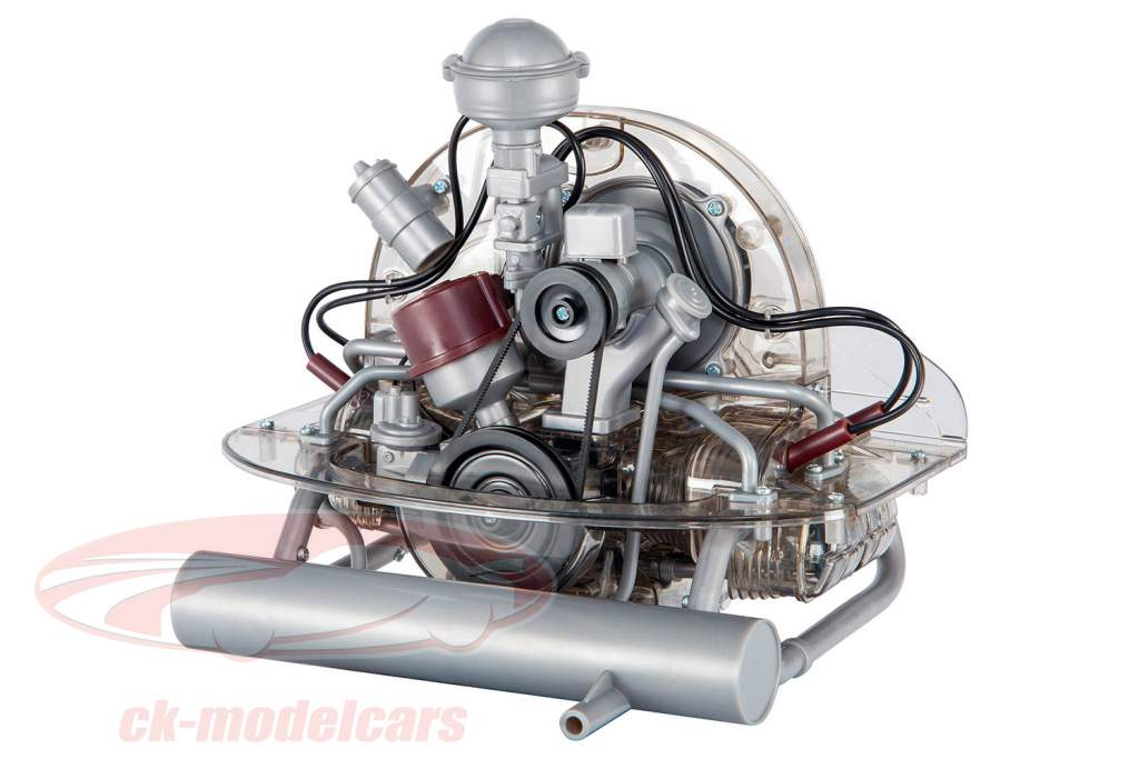 Volkswagen VW Escarabajo pretzel Motor bóxer de 4 cilindros 1946-1953 Equipo 1:4 Franzis