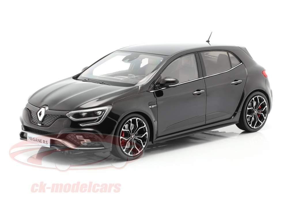 Renault Megane R.S. year 2017 black 1:18 Norev