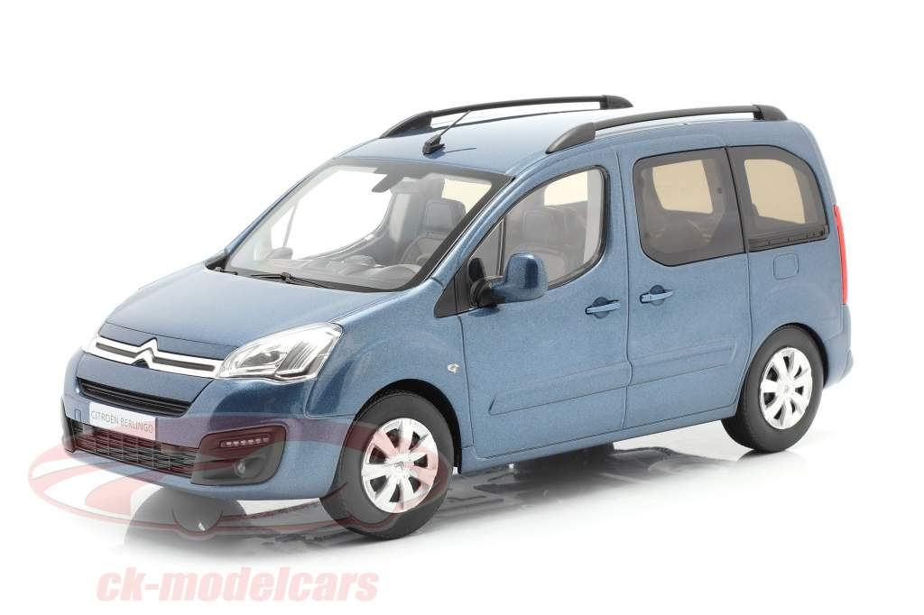 Citroen Berlingo year 2016 kyanos blue 1:18 Norev