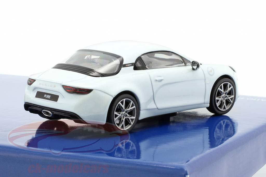 2-Car Set Alpine A110 Pure & A110S Anno di costruzione 2019 bianca 1:43 Norev