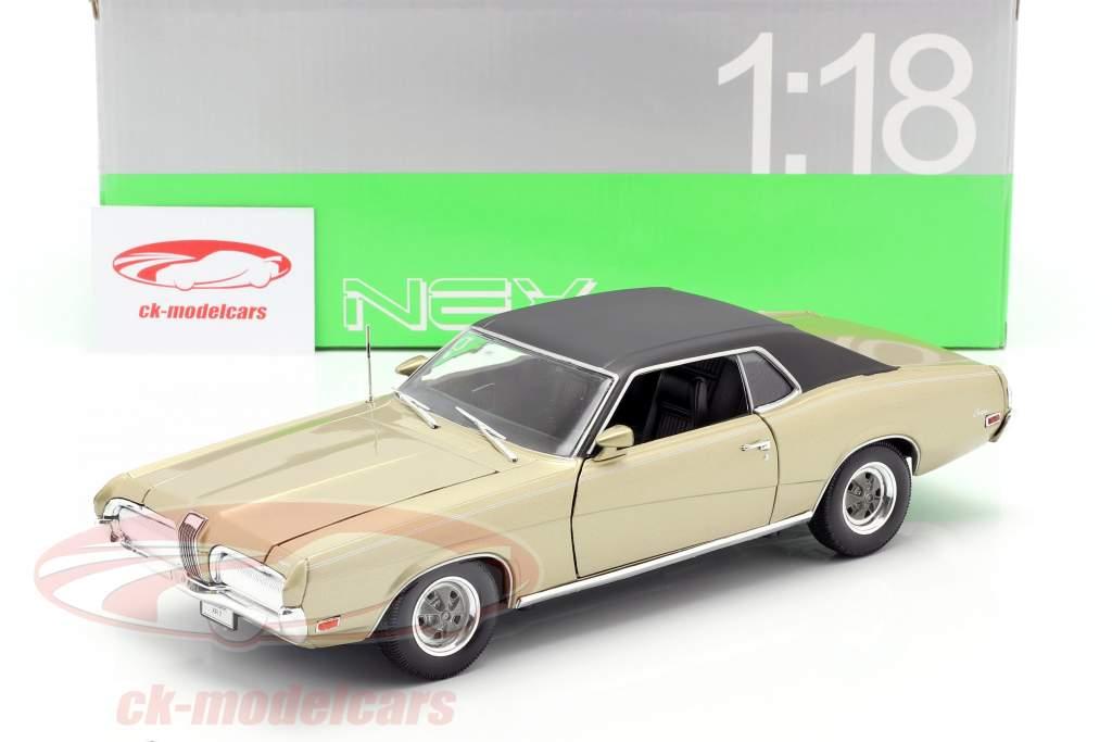 Mercury Cougar XR7 Anno 1970 oro 1:18 Welly