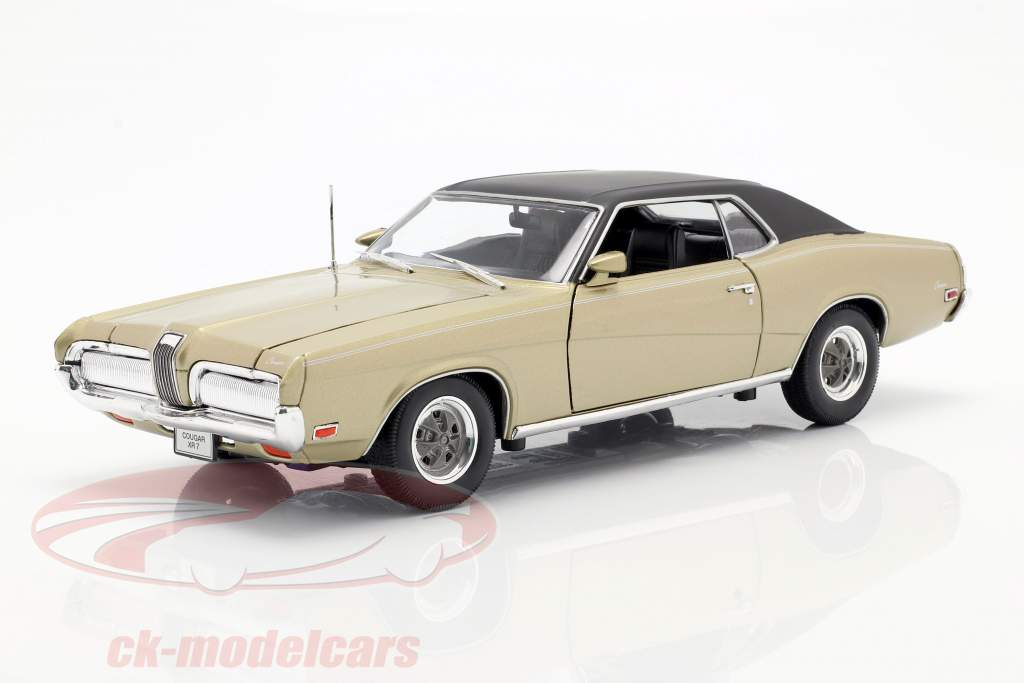Mercury Cougar XR7 Année 1970 or 1:18 Welly