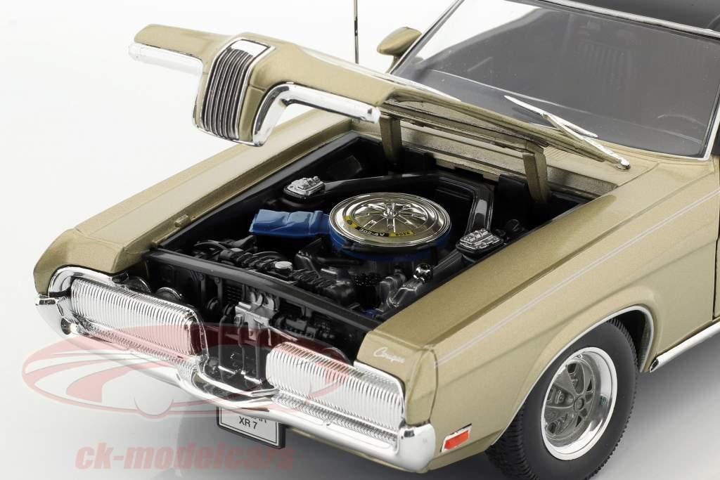 Mercury Cougar XR7 Baujahr 1970 gold 1:18 Welly