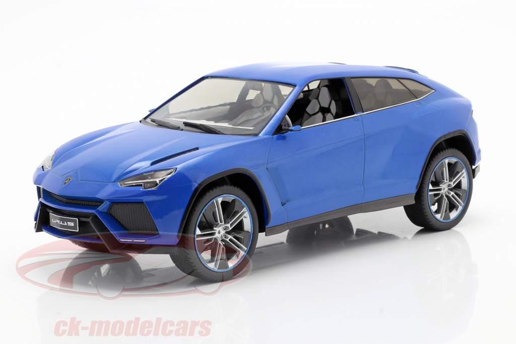 Lamborghini Urus blauw metalen 1:18 Model Car Group