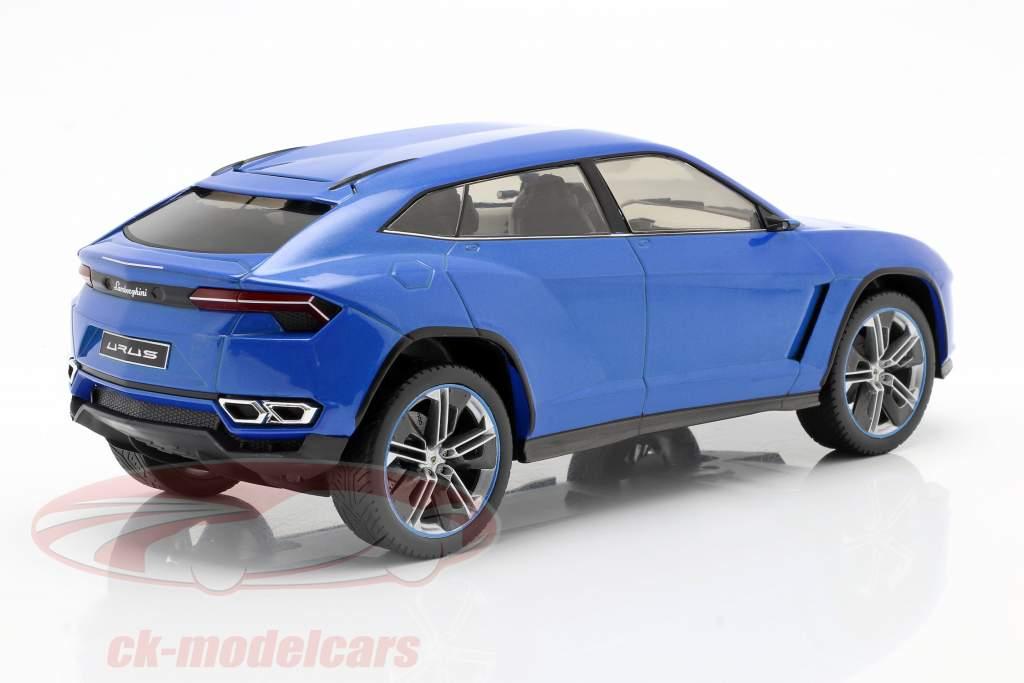 Lamborghini Urus blu metallico 1:18 Model Car Group