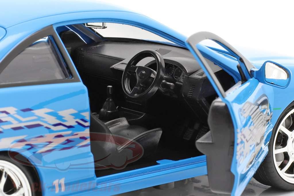Mia's Honda Acura Integra 1995 Movie Fast & Furious (2001) blue 1:24 Jada Toys