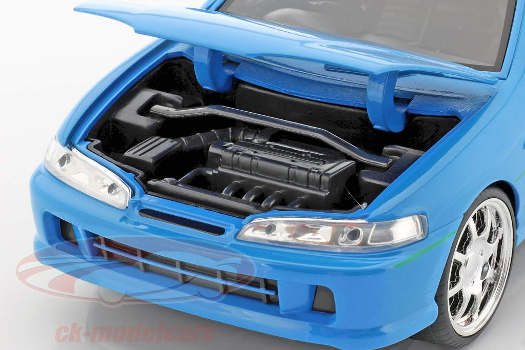 Mia's Honda Acura Integra 1995 Film Fast & Furious (2001) blau 1:24 Jada Toys