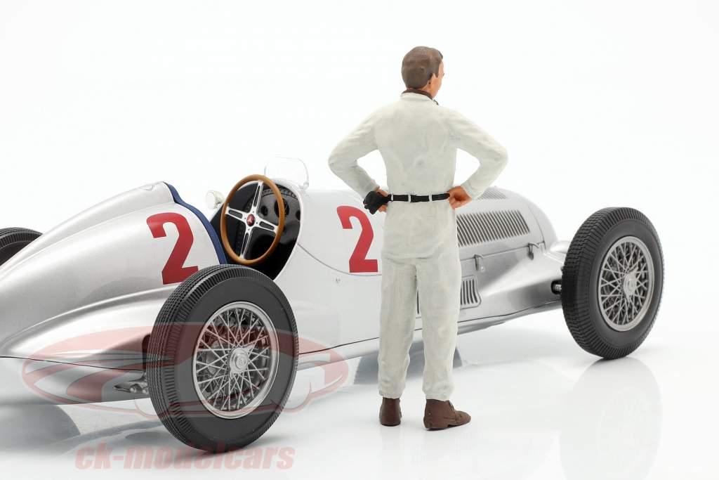 Manfred von Brauchitsch chauffør figur 1:18 FigurenManufaktur