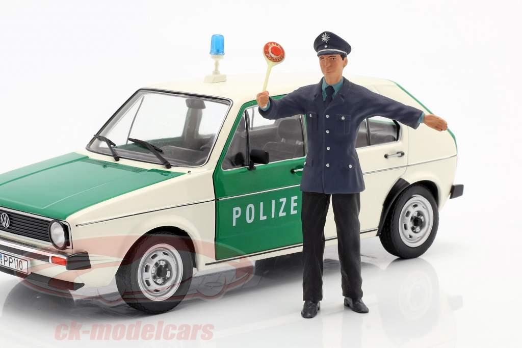 Poliziotto Figura 1:18 FigurenManufaktur