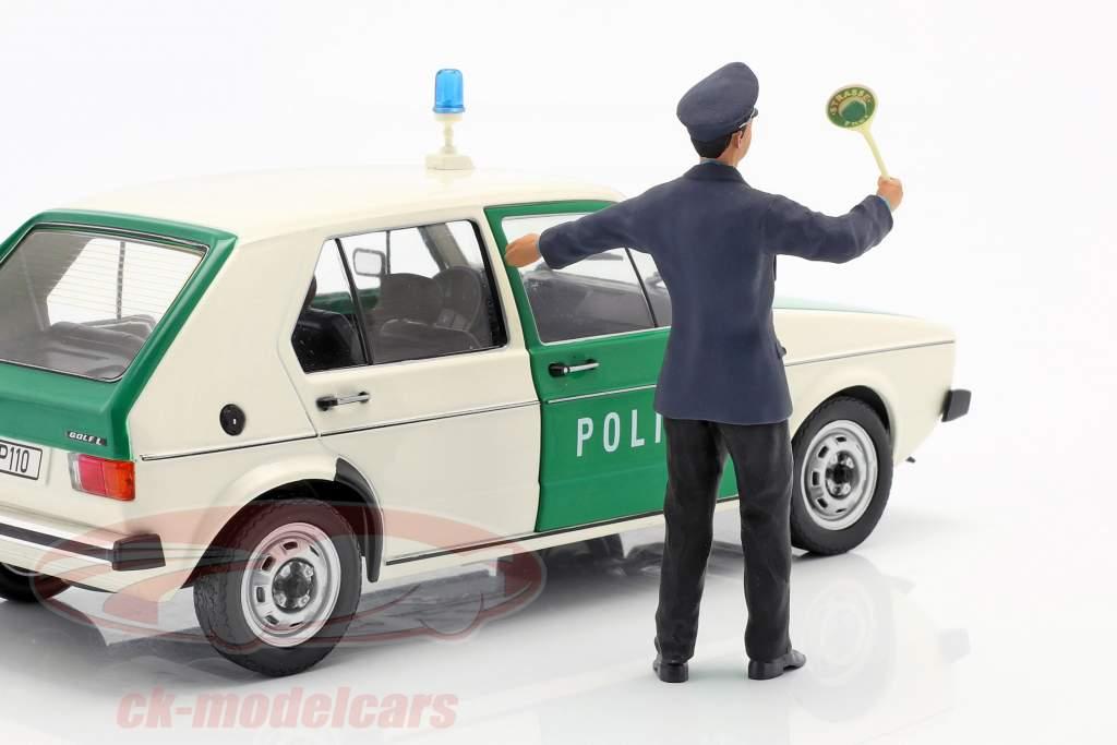 Polizist Figur 1:18 FigurenManufaktur