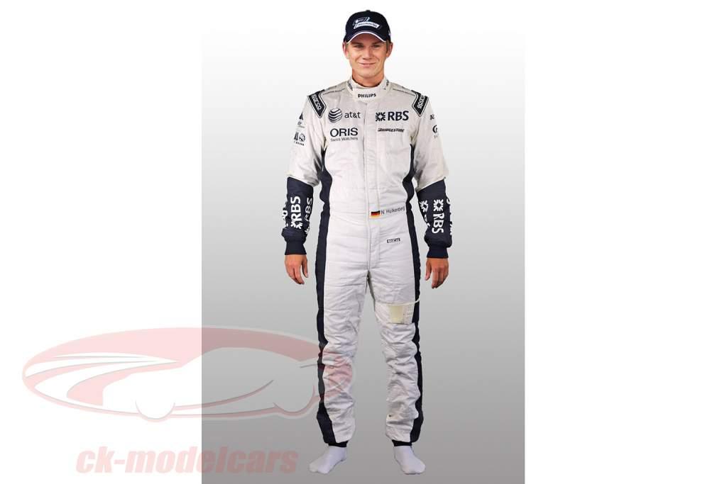 Oprecht Formule 1 Bestuurder Ras Pak Nico Hülkenberg Williams F1 Team 2010