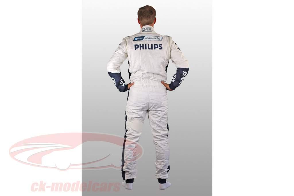 Véritable Formule 1 Chauffeur Course Costume Nico Hülkenberg Williams F1 Team 2010