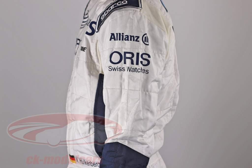 genuino Formula 1 autista Gara Completo da uomo Nico Hülkenberg Williams F1 Team 2010