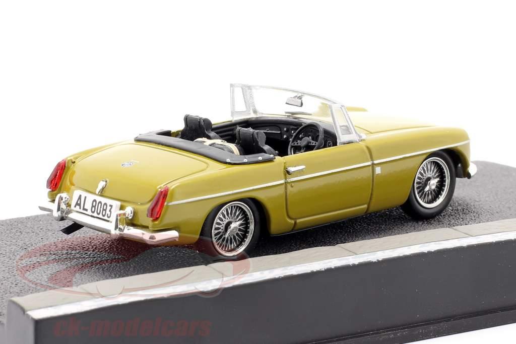 MGB James Bond Movie Car The Man with the golden gun (1974) beige vert 1:43 Ixo