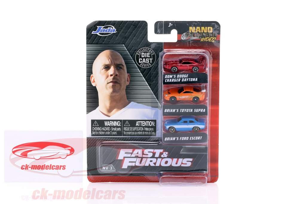 3-Car Set NV-3 Fast & Furious 1:87 Jada Toys
